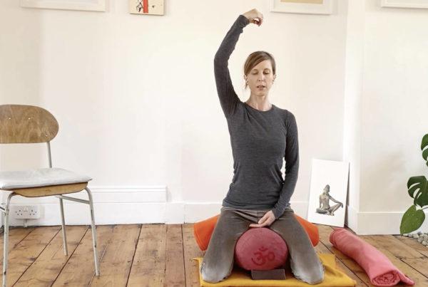 Sitting pose tutorial