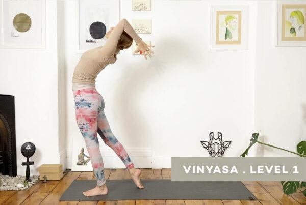 Shoulder strength and mobility, backbends, balance and playfulness